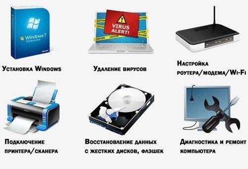 компьютерные услуги Салават